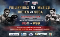 Pinoy Pride 38: Philippines VS Mexico on iWant TV!