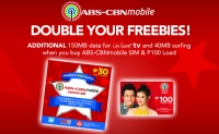ABS-CBNmobile and 7-11 Double Your Freebies Promo