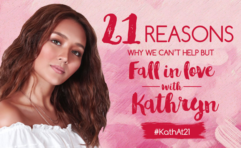 21 Reasons Why We Can't Help But Fall In Love With Kathryn