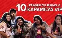 10 stages ng pagiging #KVIP