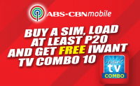 Get your FREE iWant TV Combo Load (MECHANICS)