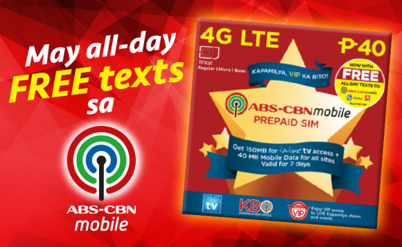Free TRINET for every purchase of ABS-CBNmobile SIM